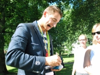 051 Sindi tervitas Allar Raja ja Sten-Erik Andersoni. Foto: Urmas Saard