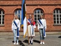 001 Sinimustvalge lipu 135. aastapäev. Foto: Urmas Saard