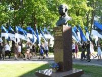 003 Sinimustvalge lipu 135. aastapäev. Foto: Urmas Saard
