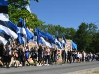 006 Sinimustvalge lipu 135. aastapäev. Foto: Urmas Saard
