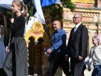 007 Sinimustvalge lipu 135. aastapäev. Foto: Urmas Saard