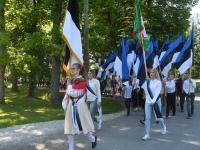 010 Sinimustvalge lipu 135. aastapäev. Foto: Urmas Saard
