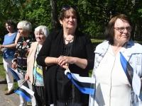 015 Sinimustvalge lipu 135. aastapäev. Foto: Urmas Saard