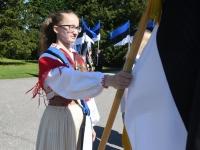 018 Sinimustvalge lipu 135. aastapäev. Foto: Urmas Saard