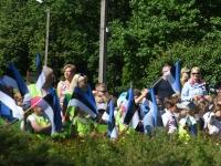 027 Sinimustvalge lipu 135. aastapäev. Foto: Urmas Saard