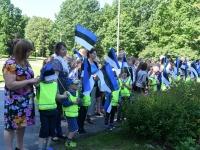 028 Sinimustvalge lipu 135. aastapäev. Foto: Urmas Saard