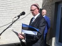 038 Sinimustvalge lipu 135. aastapäev. Foto: Urmas Saard