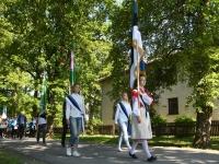 041 Sinimustvalge lipu 135. aastapäev. Foto: Urmas Saard