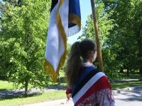 049 Sinimustvalge lipu 135. aastapäev. Foto: Urmas Saard