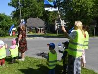 051 Sinimustvalge lipu 135. aastapäev. Foto: Urmas Saard