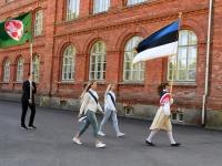 056 Sinimustvalge lipu 135. aastapäev. Foto: Urmas Saard