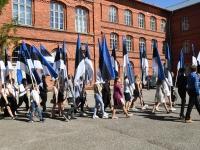 058 Sinimustvalge lipu 135. aastapäev. Foto: Urmas Saard