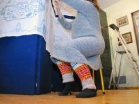 004 Sinised tikandid Sindi näitusel. Foto: Urmas Saard