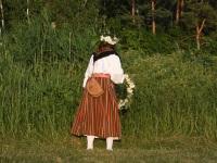 Marina Mesipuu-Rhun. Suvine pööripäev Raekülas. Foto: Urmas Saard / Külauudised