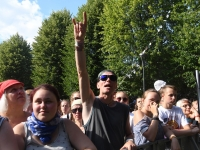 012 Svjata Vatra XXVI Viljandi pärimusmuusika festivalil . Foto: Urmas Saard