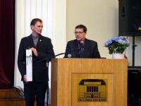 001 Tallinna 21. kooli aktusel. Foto: Mari-Ann Kelam