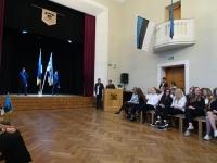 002 Tallinna 21. kooli aktusel. Foto: Mari-Ann Kelam