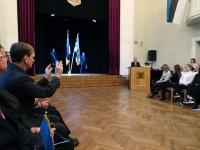 003 Tallinna 21. kooli aktusel. Foto: Mari-Ann Kelam