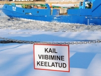 007 Talv Pärnu jõel. Foto: Urmas Saard