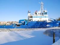 008 Talv Pärnu jõel. Foto: Urmas Saard