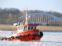 011 Talv Pärnu jõel. Foto: Urmas Saard