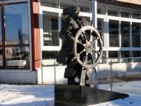 014 Talv Pärnu jõel. Foto: Urmas Saard