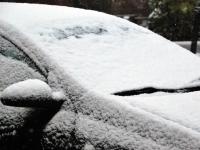 006 Tänavuse sügise esimene lumi Sindis. Foto: Urmas Saard