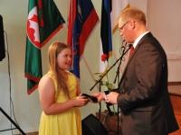 014 Tänupäeval tunnustab Sindi gümnaasium parimaid õpilasi. Foto: Urmas Saard