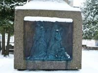 Tartu rahu 101. aastapäeva mälestushetk Türi kesklinna kalmistul. Foto: Urmas Saard / Külauudised