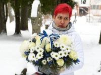 Pipi-Liis Siemann, Tartu rahu 101. aastapäeva mälestushetk Türi kesklinna kalmistul. Foto: Urmas Saard / Külauudised