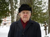 Kalju Tamm, Tartu rahu 101. aastapäeva mälestushetk Türi kesklinna kalmistul. Foto: Urmas Saard / Külauudised