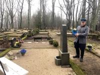 001 Tartu rahu sajandal aastapäeval Sindi kalmistul. Foto: Mari-Liis Puust