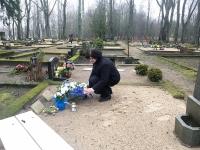 002 Tartu rahu sajandal aastapäeval Sindi kalmistul. Foto: Mari-Liis Puust
