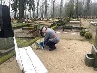 003 Tartu rahu sajandal aastapäeval Sindi kalmistul. Foto: Mari-Liis Puust