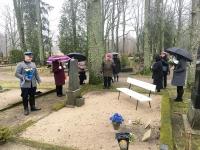 004 Tartu rahu sajandal aastapäeval Sindi kalmistul. Foto: Mari-Liis Puust