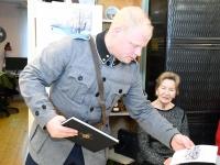 011 Tartu rahu sajandal aastapäeval Sindi muuseumis. Foto: Urmas Saard