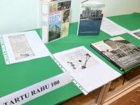 014 Tartu rahu sajandal aastapäeval Sindi muuseumis. Foto: Urmas Saard