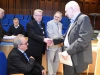 003 Tartu rahuläbirääkimistele pühendatud konverents rahvusraamatukogus. Foto: Urmas Saard