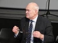 007 Rein Koch. Tartu rahuläbirääkimistele pühendatud konverents rahvusraamatukogus. Foto: Urmas Saard