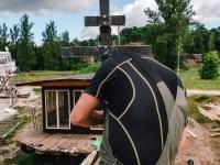 006 Tartu ristimismaja ehitus. Foto: Hannes Praks