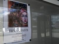 """001 Tiina Ojaste """"Muutumised"""" Sindi raamatukogus. Foto: Urmas Saard / Külauudised"""