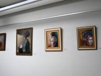 """003 Tiina Ojaste """"Muutumised"""" Sindi raamatukogus. Foto: Urmas Saard / Külauudised"""