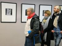 012 Tõnis Vindi graafika ja plakatid Avangard Galeriis. Foto: Urmas Saard