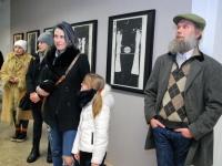 013 Tõnis Vindi graafika ja plakatid Avangard Galeriis. Foto: Urmas Saard