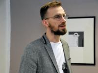 014 Tõnis Vindi graafika ja plakatid Avangard Galeriis. Foto: Urmas Saard