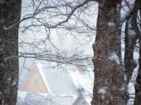 003 Tõnisepäeva lumesadu Sindis. Foto: Urmas Saard