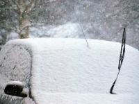 004 Tõnisepäeva lumesadu Sindis. Foto: Urmas Saard