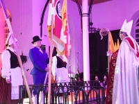 003 Tori valla lipu õnnistamine. Foto: Urmas Saard