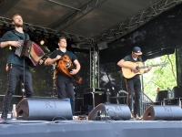 Hartwin Dhoore, Koen Dhoore, Ward Dhoore esimese Kirsimäe laval. Foto Urmas Saard Külauudised