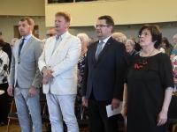 006 TÜ Pärnu kolledži Väärikate ülikooli õppeaasta lõpetamine. Foto: Urmas Saard